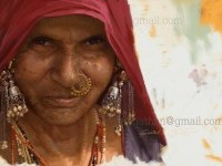 Indian Woman Painting by Suneesh